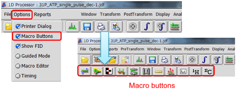Delta Tips: How to Use Macro Buttons | Applications | JEOL Ltd