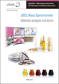 JEOL Mass Spectrometer Material analysis solutions