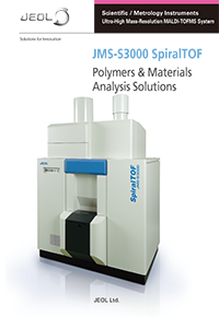 JMS-S3000 SpiralTOF™ Polymers & Materials Analysis Solutions