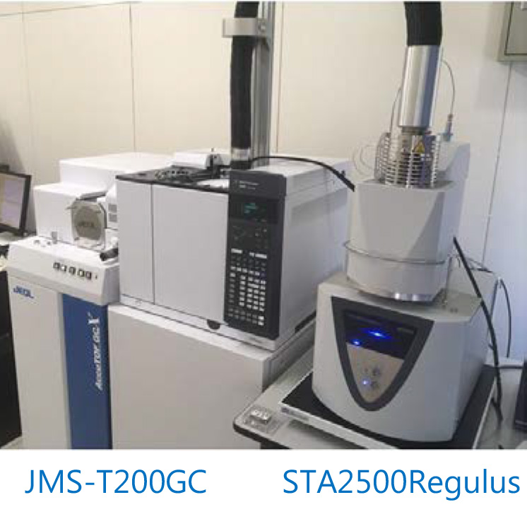 TG TOFMS system