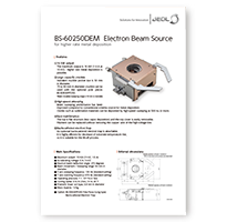 BS-60250DEM Electron Beam Source