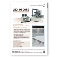 JBX-9500FS Electron Beam Lithography System