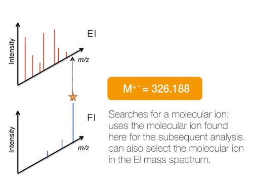 2. Molecular Ion Search