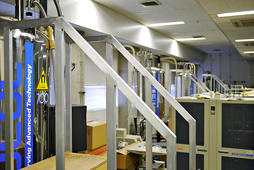 One of the NMR labs with an NMR spectrometer