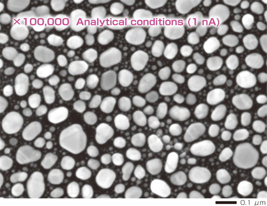 x100,000 analytical conditions (1nA)