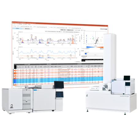 msFineAnalysis Auto-analysis software for JMS-T200GC series