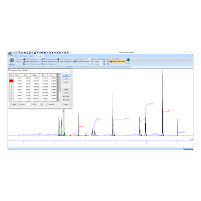 "NMR data processing software ""ALICE10bn"""