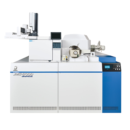GC-MS: JMS-800D High-Resolution Mass Spectrometer
